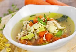 chickens soup