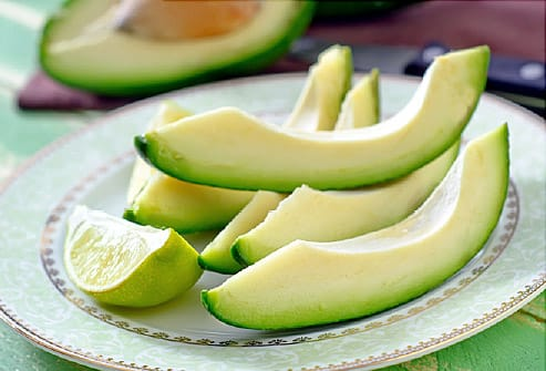 avacado sliced