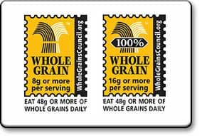 Healthy Food Sign: Whole Grains