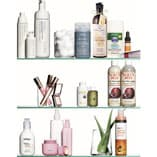 Marie Claire Photo of Skin Product 3 shelves