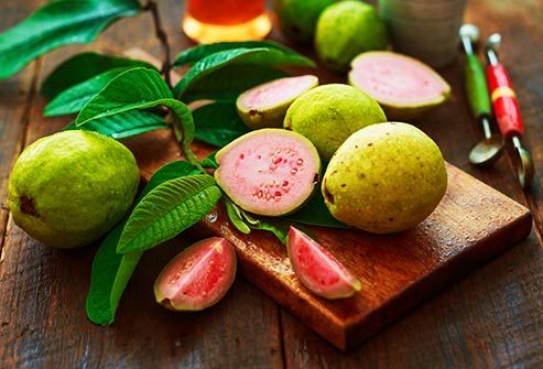sliced guava