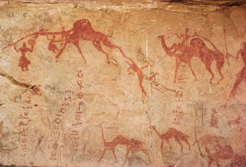 ancient cave painting