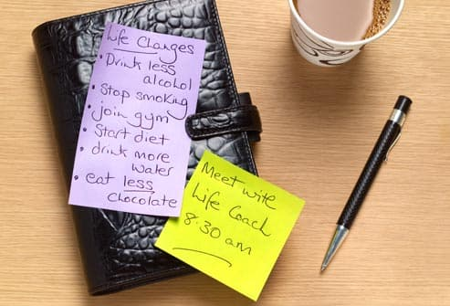 life coach to do list