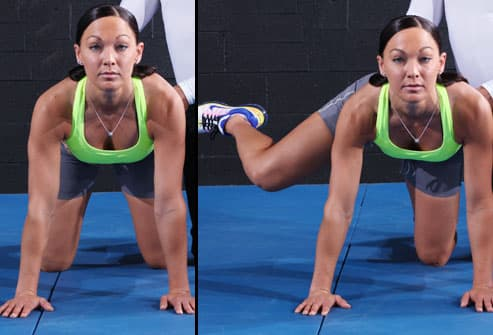 Proper Technique for the Dirty Dog Exercise