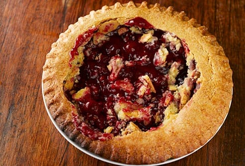 remains of cherry pie