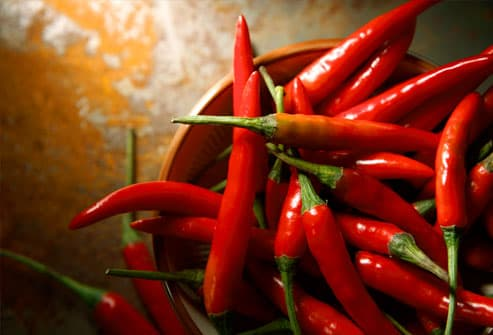 Although there are varying results, reports show that consuming spicy foods or adding hot sauce to your meal may increase your metabolism from 8% even up to 25% of its normal levels. Of course 8% isn't a huge number, but it is bigger than the 4% boost from caffeine .