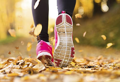 joggers feet