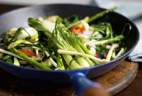 Green Vegetable Stir Fry