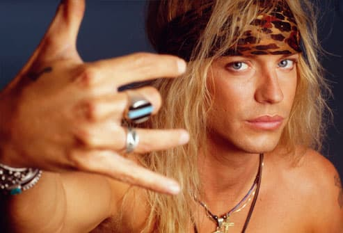 Poison Frontman Bret Michaels 1993