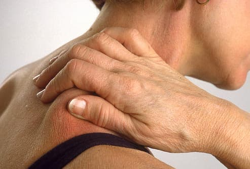 Symptoms of fatigue and joint pain