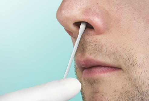 Image result for cotton swab nose