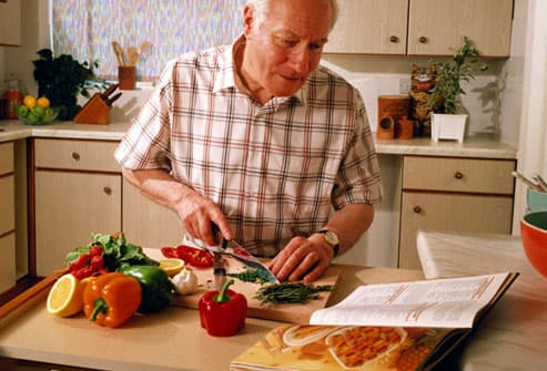Aging Making Meals And Cooking For One In Pictures