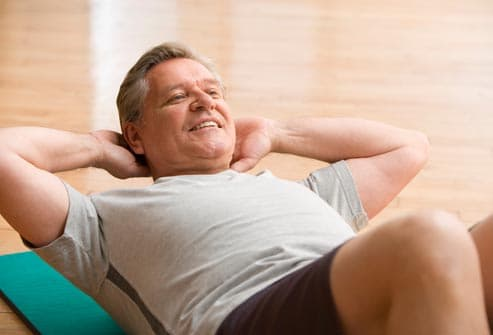 Men who exercise may delay age-related <a class=