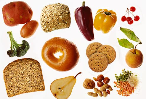 Assortment of Fiber Foods
