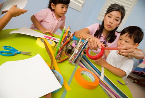 Arts and Crafts With Kids – Maximising Enjoyment, Minimising Stress