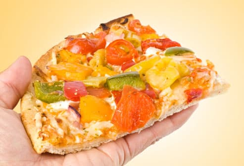 Healthier Slice of Pizza