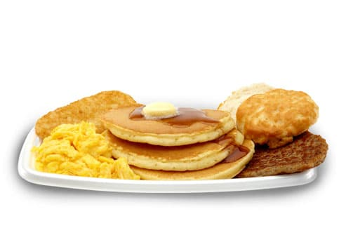McDonalds Big Breakfast With Hotcakes