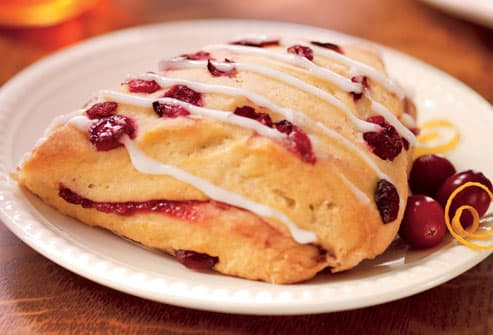 Starbucks Cranberry And Orange Scone