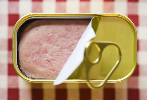 Can of Processed Meat