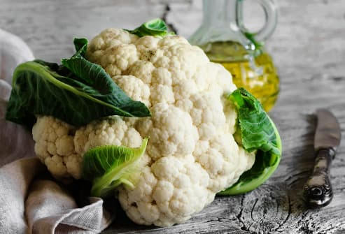 Olive Oil and Cauliflower