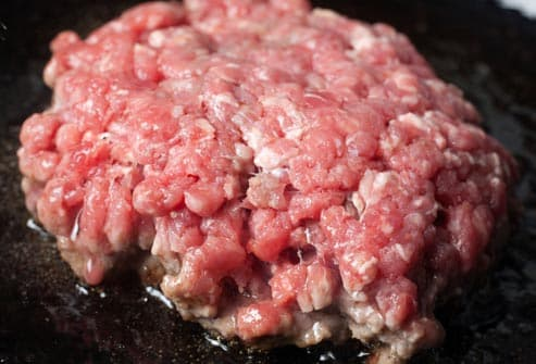ground beef patty