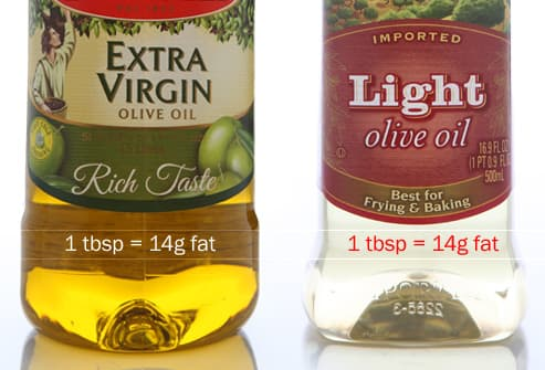 Exrtra Virgin VS Light Olive Oil