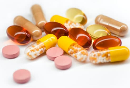 photo of vitamin supplements