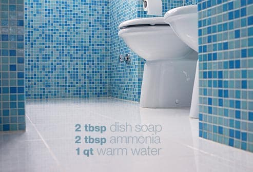 Cleaning tips beat germs all over the house with pictures for Bathroom cleaning images