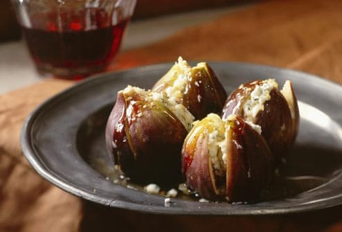 stuffed figs and cheese