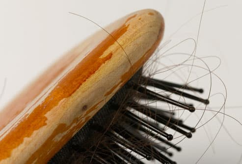 Hair Stuck in Brush