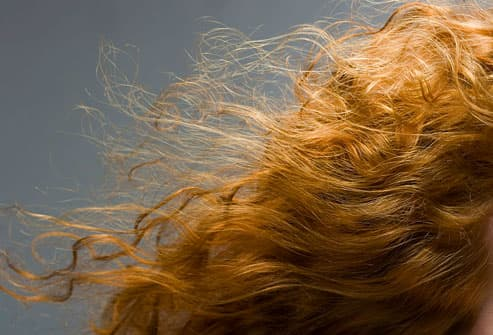 Woman With Full Bodied Hair