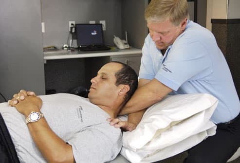 Physiotherapy on the PGA Tour 2005