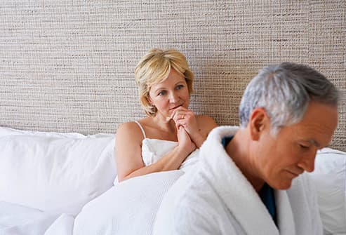 man worried about impotence