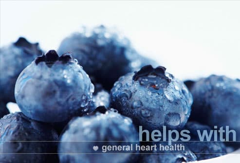 getty rm photo of blueberries 24 Foods That Can Save Your Heart