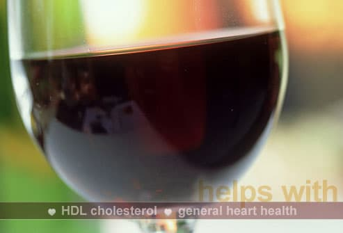 photolibrary rm photo of red wine 24 Foods That Can Save Your Heart