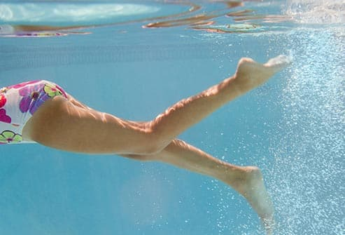 Getty Rf Photo Of Woman Swimming