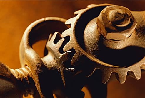 worn out gears