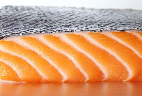 Fillet Of Raw Salmon