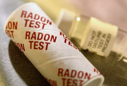 Radon Gas Home Test Kit