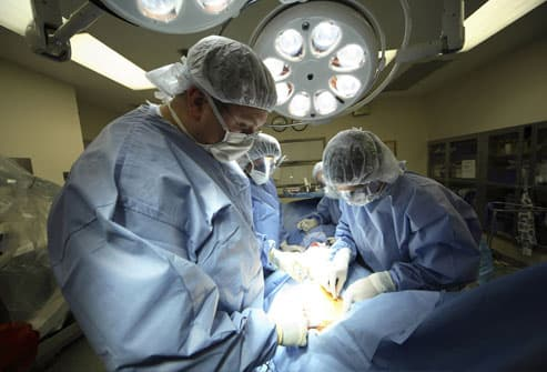Treating Lung Cancer With Surgery