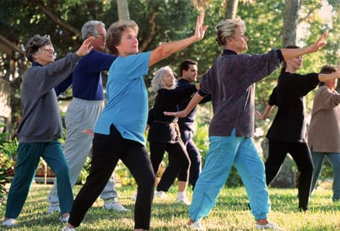 Tai Chi and Yoga for OA