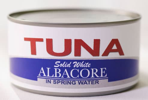 Can Of Albacore Tuna