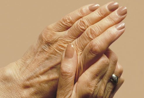 Older Womans Hands