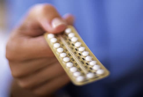 Like pregnancy, birth control pills prevent ovulation.