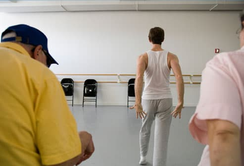 Dance class for people with Parkinsons