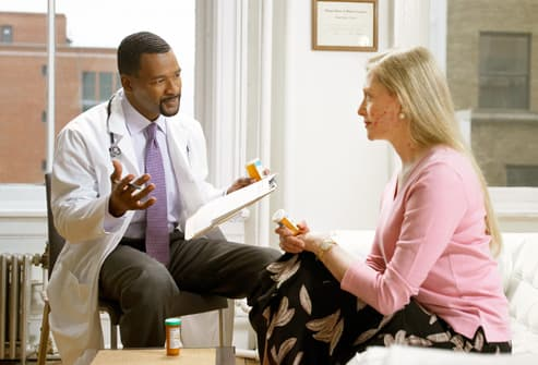 You and your doctors will work together on a psoriasis management plan 3