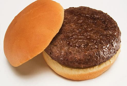 Plain Juicy Hamburger