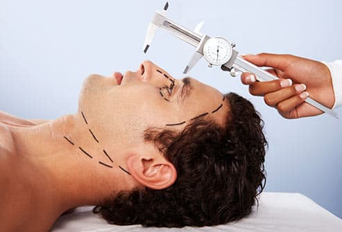 young man plastic surgery