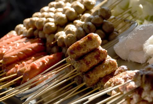 Stomach Issues And Street Food