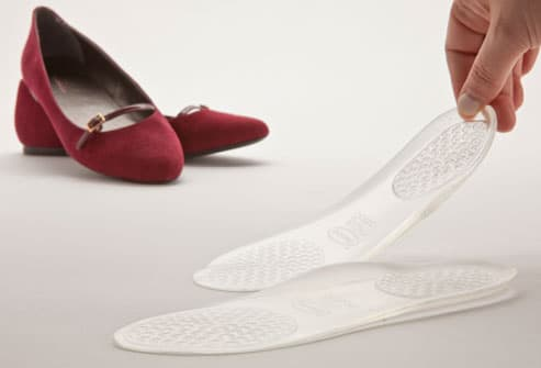 3/4 gel lady insoles plantillas gel massaging high heel protector for women shoes arch